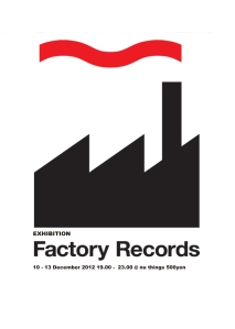 Factory Records Exhibition